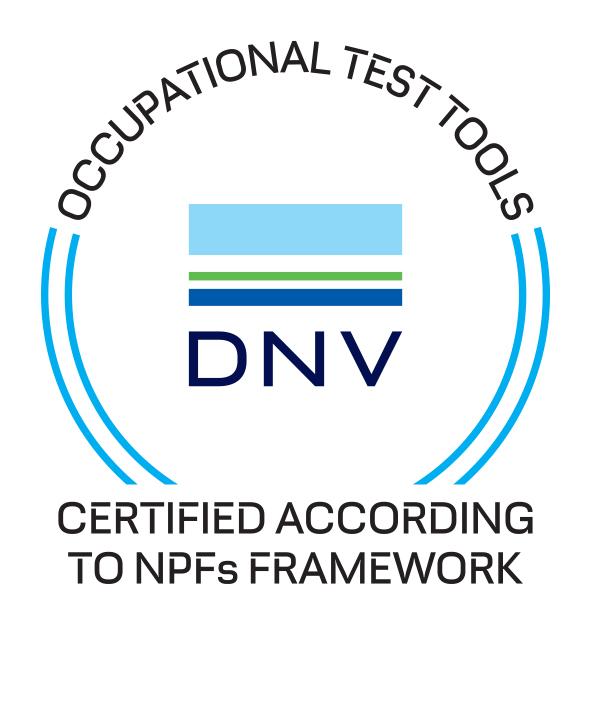DNV certifierade tester